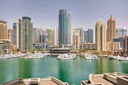 شقة 2 غرفة نوم للبيع في دبي مارينا، دبي - FULL MARINA | CHILLER FREE | BIG LAYOUT