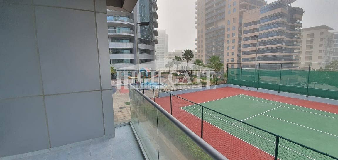 14 AMAZING 1BR THE WAVE TOWER B  POOL/COURT VIEW