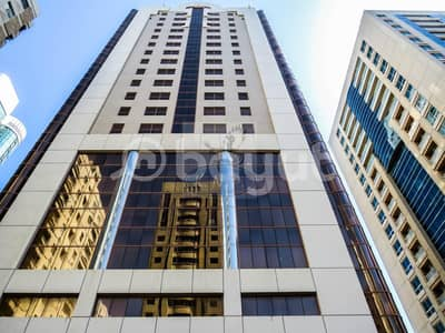 Office for Rent in Hamdan Street, Abu Dhabi - NO COMMISSION HURRY  OFFICE SPACE AVALIABLE IN HAMDAN ST WITH TAWTHEEQ AND AFFORDABLE RENT