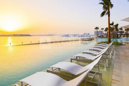 فلیٹ 2 غرفة نوم للايجار في نخلة جميرا، دبي - Brand New | Garden | Sea view | Big Layout