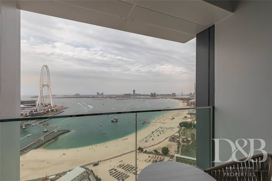 2 Add JBR Last Penthouse For Sale | Full Sea View