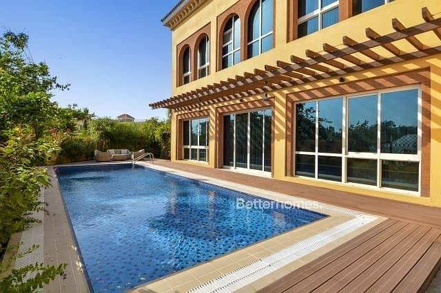 5 Beds | Large Swimming Pool |Corner Plot