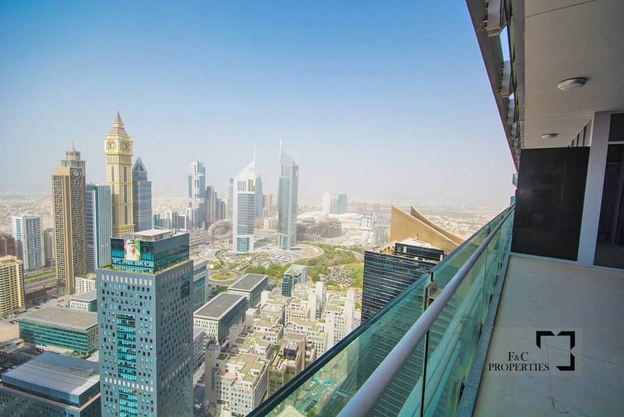 10 DIFC View I High Floor I The Best Price