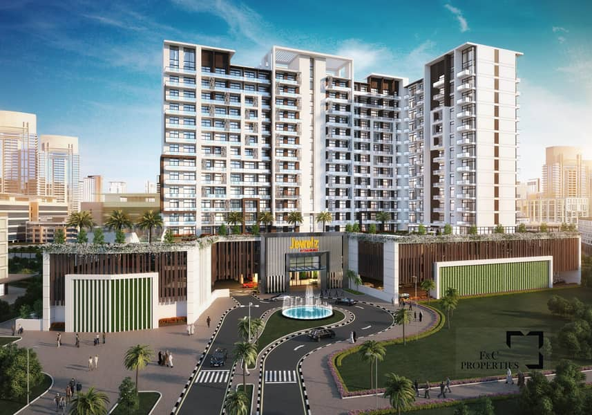 8 1% Monthly for 5 Yrs | Fully Furnished | Miracle Garden View