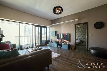 1 Bedroom Flat for Sale in The Greens, Dubai - Vacant on Transfer | Upgraded | 2 Bedrooms