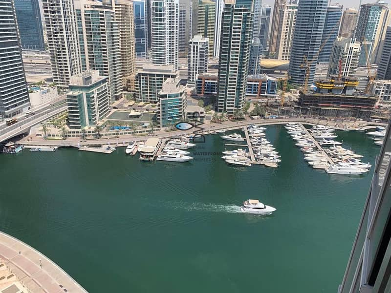 Genuine Listing! Including Chiller Fees |2BR Marina Promenade Paloma Tower with Stunning Marina View |Newly Refurbished