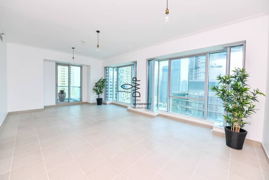 2 Genuine Listing! Including Chiller Fees |2BR Marina Promenade Paloma Tower with Stunning Marina View |Newly Refurbished