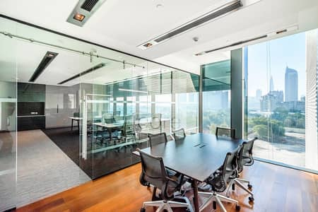 Office for Rent in DIFC, Dubai - Fully Fitted Office | Low Floor | Parking