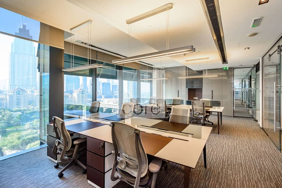 Fully Fitted Office | Mid Floor | Parking