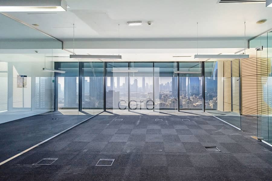 2 Fitted and Partitioned Office | On High Floor