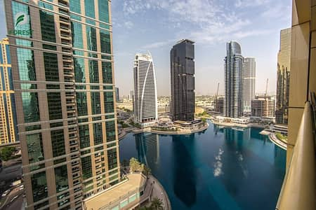 1 Bedroom Apartment for Sale in Jumeirah Lake Towers (JLT), Dubai - Fully Furnished   1BR with Full Lake View Tenanted