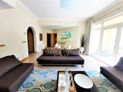 2 Bedroom Flat for Rent in Palm Jumeirah, Dubai - Furnished 2BR | Chiller+1Month+Beach Access Free