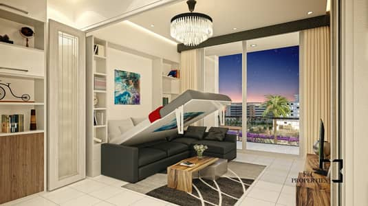Studio for Sale in Arjan, Dubai - Re-Sale | Full Garden View | Handover Soon