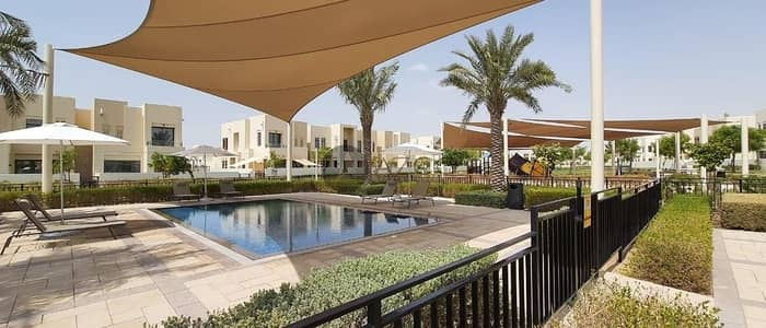 تاون هاوس 3 غرف نوم للايجار في ريم، دبي - ADVANCE BOOKING FOR TYPE I | 3 BR TOWNHOUSE | AVAILABLE 1ST OF MARCH 2021 | SINGLE ROW