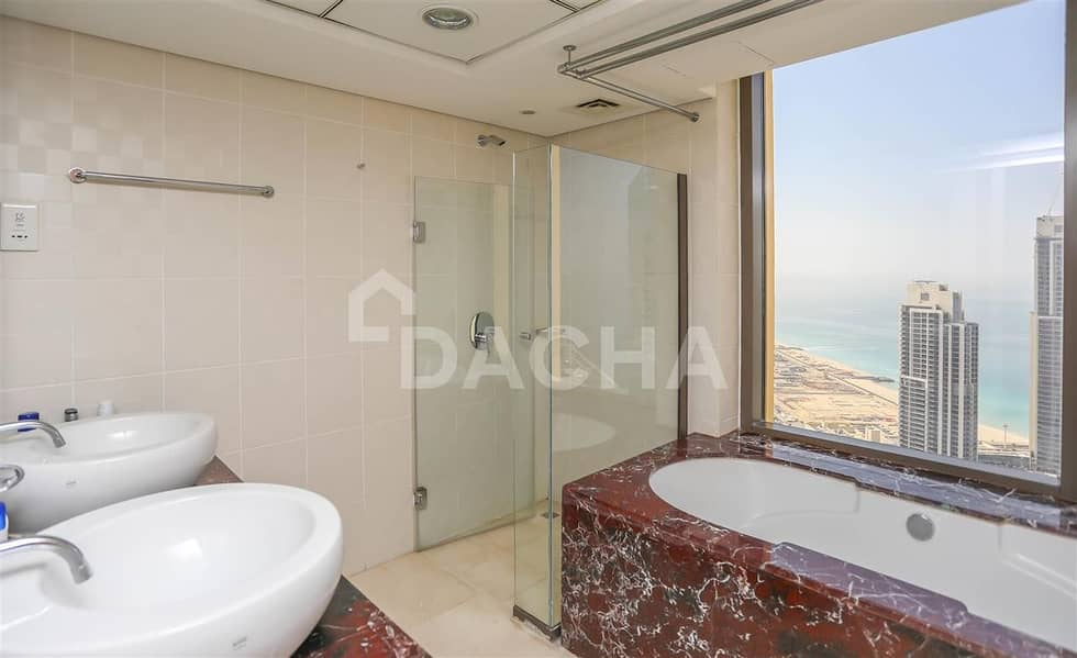 16 Vacant / Sea & Marina View / 2 BED DUPLEX