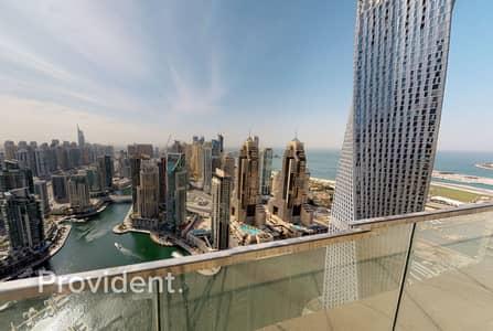3 Bedroom Apartment for Sale in Dubai Marina, Dubai - Biggest Layout   Full Marina View   High ROI