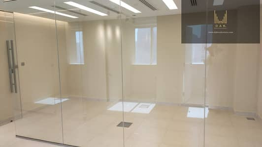 Office for Sale in Business Bay, Dubai - Astounding Semi-fitted Office | Multiple Options | Sought-after Locality