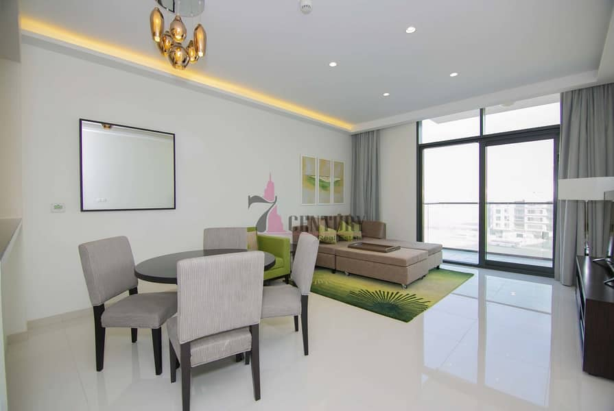 2 Brand New   1 Bedroom Apartment   Fully Furnished