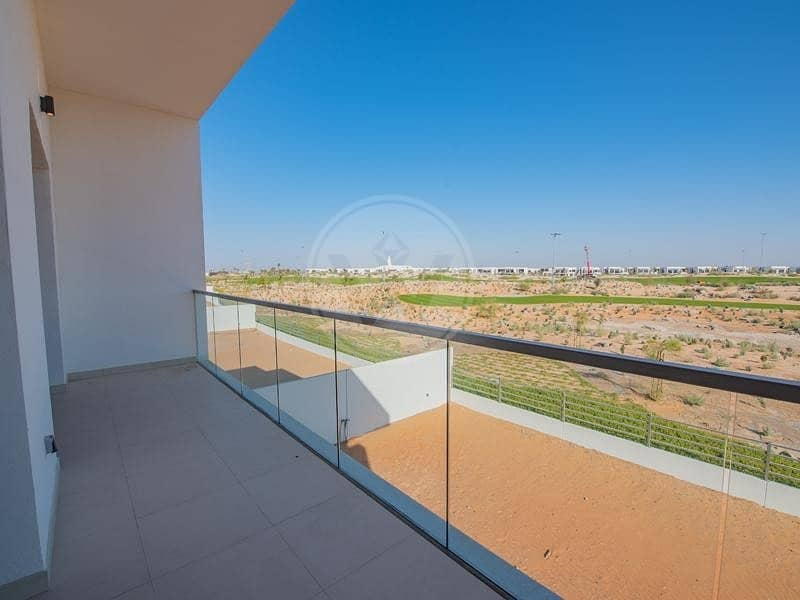 2 Type 5F with golf view | Yas Isand living