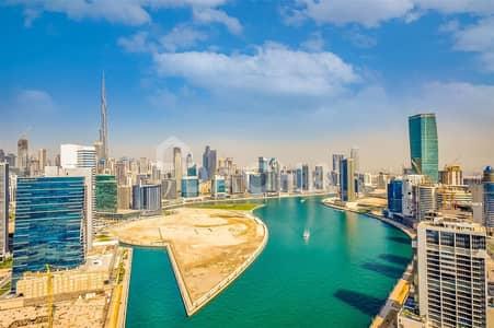 Burj Khalifa and canal view / Vacant / High floor