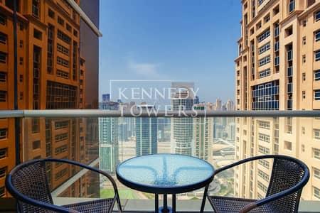 2 Bedroom Flat for Rent in Jumeirah Lake Towers (JLT), Dubai - Dubai Eye View | Great Location | High-floor