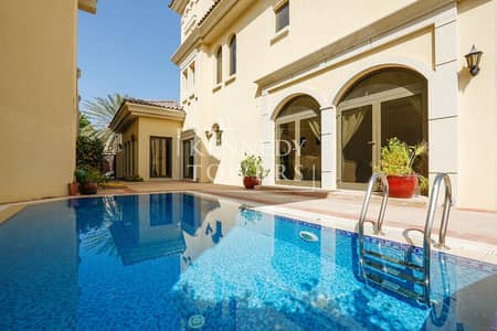 4 Bedroom Villa for Rent in Palm Jumeirah, Dubai - Astonishing View | Private Pool | Upscale Location