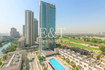 1 Bedroom Flat for Sale in The Views, Dubai - Exclusive|5% ROI|Superb 1BR+Study|Golf Course View