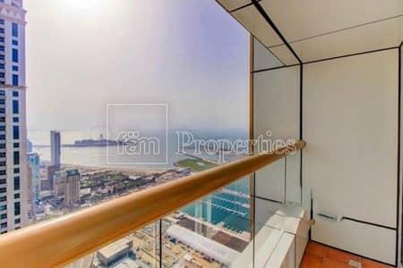 4 Bedroom Penthouse for Sale in Dubai Marina, Dubai - Sea view | High floor | Penthouse | Rented | maids