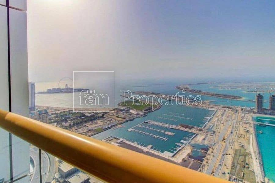 14 Sea view | High floor | Penthouse | Rented | maids