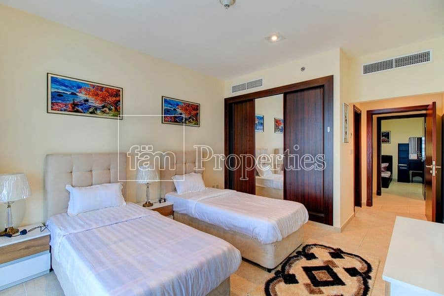 2 Beautiful | well maintained | high floor | maids