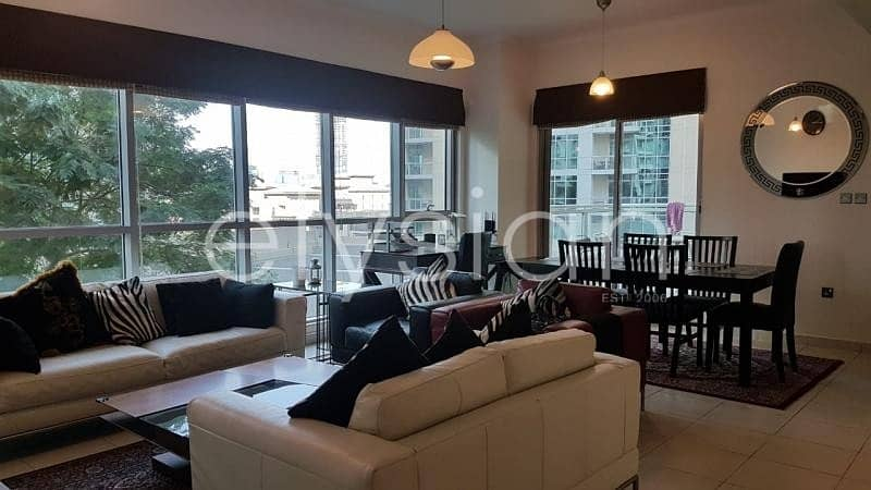 2 Upgraded and fully furnished 2 BR Apartment