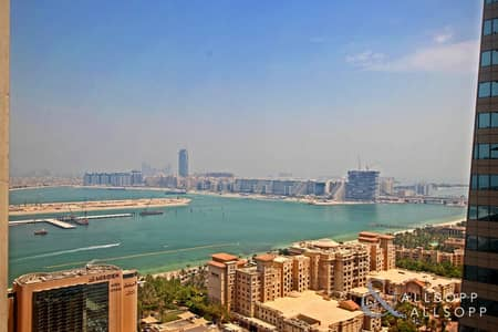 2 Bedroom Apartment for Sale in Dubai Marina, Dubai - Sea view | 2 Beds + Maids | 1714 Sq. Ft.