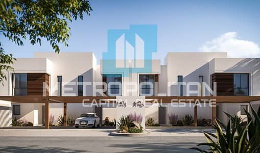 2 Bedroom Townhouse for Sale in Yas Island, Abu Dhabi - Modern Layout | Easy Payment Plan| Prime Location
