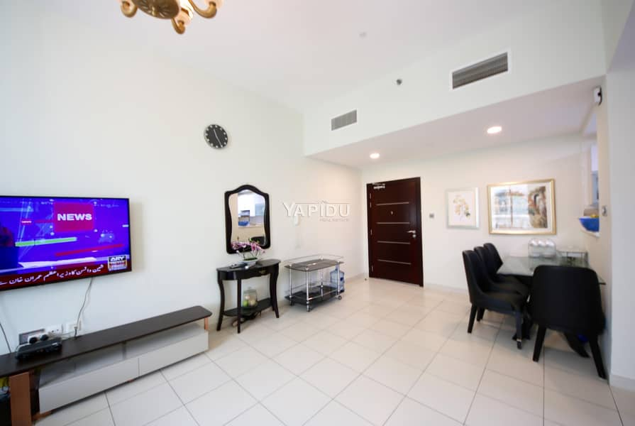 2 spacious 2 bedroom bright & furnished