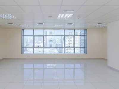 Office for Rent in Al Nahda, Sharjah - Spacious 630 Sq.Ft Office with Central A/C | Sharjah