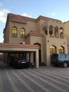 Villa for rent in Ajman, in the Rawda area, second inhabitant, close to the main road, a very privileged location