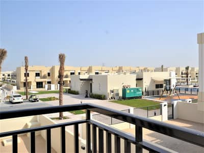 4 Bedroom Townhouse for Rent in Town Square, Dubai - Single Row| Beside Pool & Park | Best Price