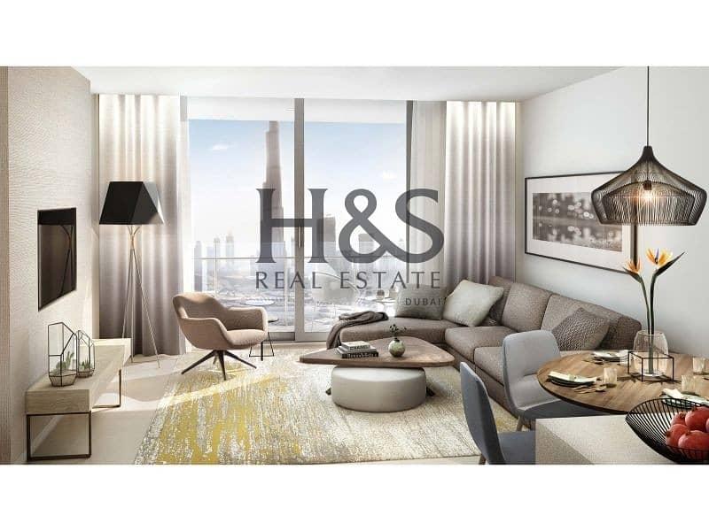 Luxury Living Apt I Burj Khalifa & Fountain Views