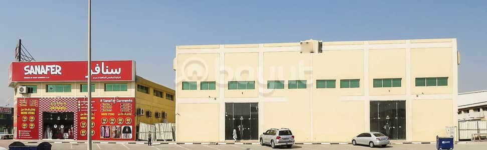 Showroom for Rent in Ajman Industrial, Ajman - 2 MONTHS FREE !! GARMENTS SHOWROOMS FOR RENT IN MAIN CLOTHING MARKET FOR RETAILS AND WHOLE SALE