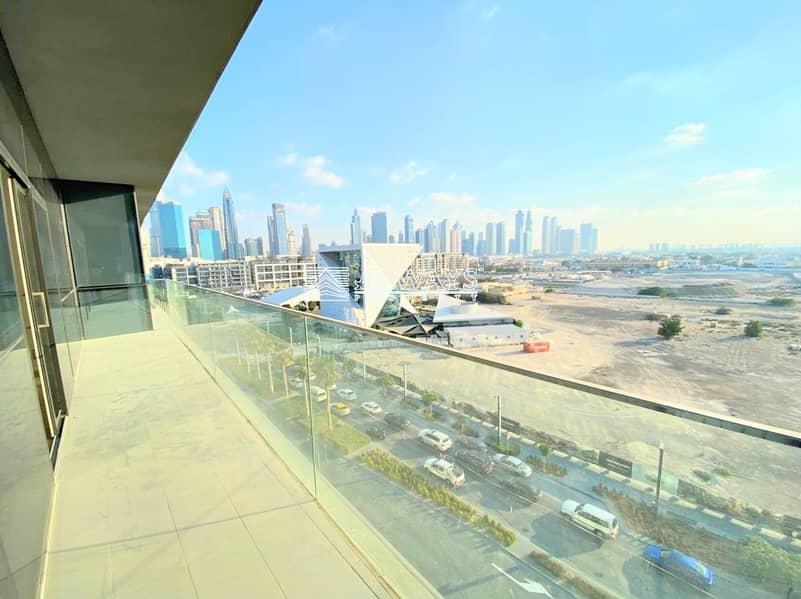 2 Sky Line views ||Corner Apartment || Roof top Pool