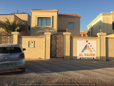5 Bedroom Villa for Sale in Al Mowaihat, Ajman - For sale villa with electricity, water and air conditioners. .