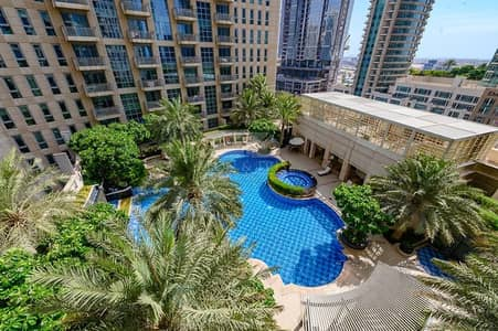 1 Bedroom Flat for Sale in Downtown Dubai, Dubai - Standpoint B Vacant 1 bed room Stunning pool view
