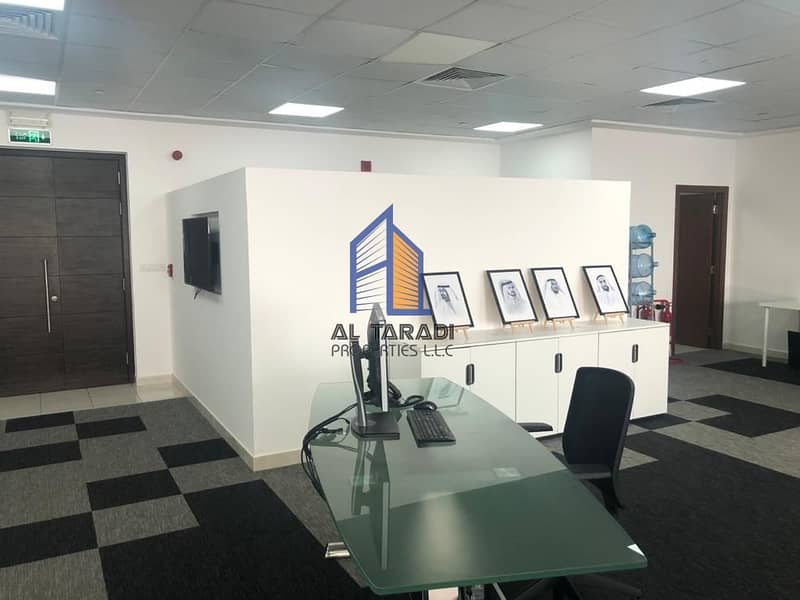 2 Fully Fitted Furnished Office and Can be Also UnFurnished  in Addax Tower