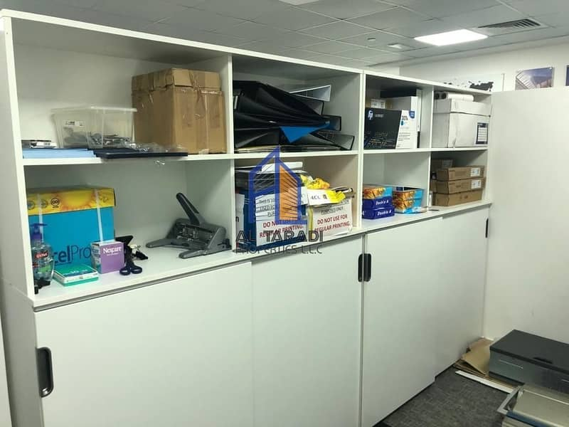 13 Fully Fitted Furnished Office and Can be Also UnFurnished  in Addax Tower