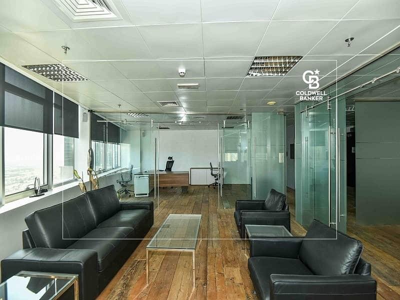 Mazaya Business Avenue AA1 | Full Floor| Furnished