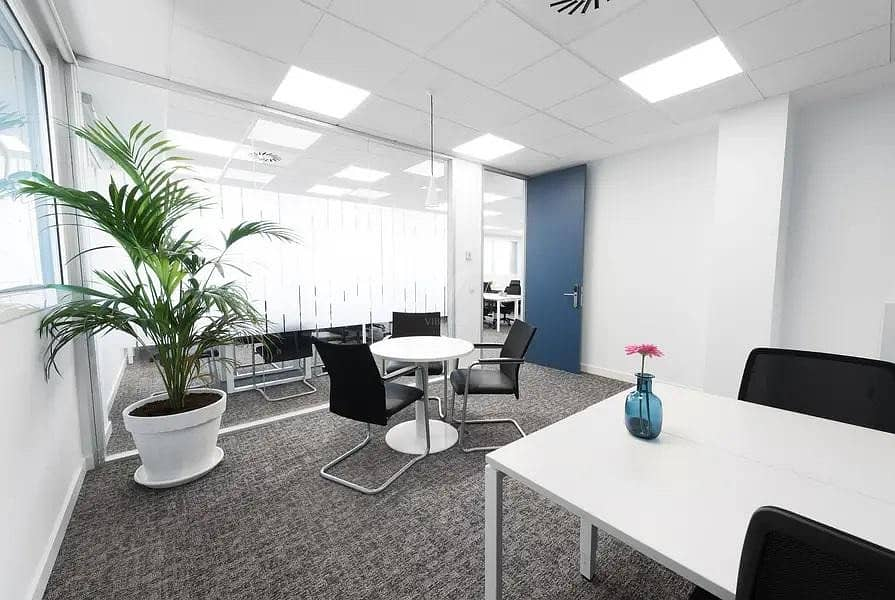 Multiple Offices | Fully Furnished and Equipped