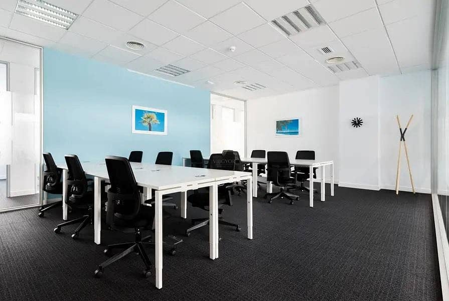 2 Multiple Offices | Fully Furnished and Equipped