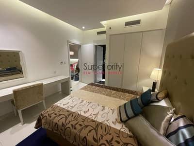 شقة 1 غرفة نوم للايجار في الخليج التجاري، دبي - Canal View | With Parking | Furnished | DAMAC Maison The Vogue (Burj Damac 5)