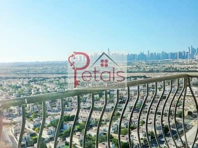 فلیٹ 1 غرفة نوم للايجار في مثلث قرية الجميرا (JVT)، دبي - Best Views | High Floor | Kitchen Appliances