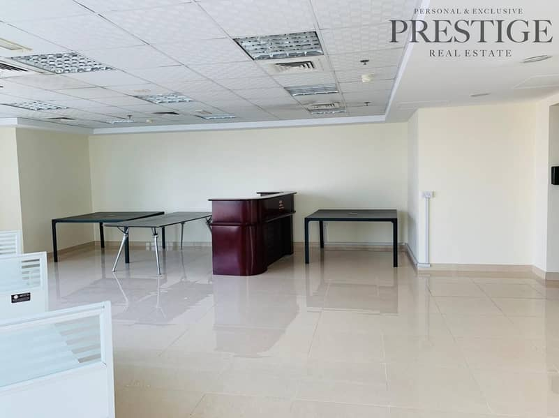 2 Fitted office with marina view near DMCC metro